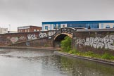 BCN Marathon Challenge 2014: Aston Junction seen from the Digbeth Branch, where it meets the Birmingham & Fazeley Canal.. Birmingham Canal Navigation,   United Kingdom, on 24 May 2014 at 10:16, image #101