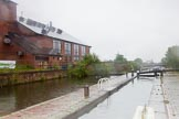 BCN Marathon Challenge 2014: Aston Lock Nr 4 on the Birmingham & Fazeley Canal, with a large sidepond on the left.. Birmingham Canal Navigation,   United Kingdom, on 24 May 2014 at 10:37, image #109