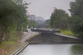 BCN Marathon Challenge 2014: Looking up the Aston Locks on the Birmingham & Fazeley Canal at lock 7.. Birmingham Canal Navigation,   United Kingdom, on 24 May 2014 at 10:51, image #112