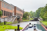 BCN Marathon Challenge 2014: Factory bridge on the Tame Valley Canal between Perry Bar locks 9 and 10. The arm once served Perry Bar Wharf, and there used to be another arm on the other side of the canal. Birmingham Canal Navigation,   United Kingdom, on 24 May 2014 at 13:02, image #116