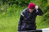 BCN Marathon Challenge 2014: Charley at the Perry Bar locks on a rather wet day. Birmingham Canal Navigation,   United Kingdom, on 24 May 2014 at 13:57, image #121