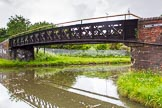 BCN Marathon Challenge 2014: Rushall Junction on the Tame Valley Canal, with the Rushall Canal on the right. Birmingham Canal Navigation,   United Kingdom, on 24 May 2014 at 14:56, image #135