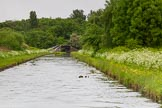 BCN Marathon Challenge 2014: Rushall Junction on the Tame Valley Canal, with the Rushall Canal on the left. Birmingham Canal Navigation,   United Kingdom, on 24 May 2014 at 14:59, image #139