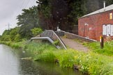 BCN Marathon Challenge 2014: Factory bridge on the Tame Valley Canal near Crankhall Lane Bridge. The arm, still tracable, once served an iron foundry. Birmingham Canal Navigation,   United Kingdom, on 24 May 2014 at 15:27, image #150