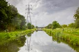 BCN Marathon Challenge 2014: The long and dead straight summit level of the Tame Valley Canal, here betweem Crankhall Land Bridge and Hateley Heath Aqueduct. Birmingham Canal Navigation,   United Kingdom, on 24 May 2014 at 15:35, image #152