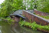 BCN Marathon Challenge 2014: On the Walsall Canal near Tame Valley Junction - bridge leading to the former Ocker Hill Tunnel Branch, now Ocker Hill Residential Moorings. Birmingham Canal Navigation,   United Kingdom, on 24 May 2014 at 15:58, image #156