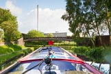 BCN Marathon Challenge 2014: Felonious Mongoose at Pudding Green Junction, where the Walsall Canal meets the BCN New Main Line. Birmingham Canal Navigation,   United Kingdom, on 24 May 2014 at 17:27, image #165