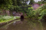 BCN Marathon Challenge 2014: Approaching Gosty Hill Tunnel on the Dudley No 2 Canal from the eastern side and in daytime. Birmingham Canal Navigation,   United Kingdom, on 25 May 2014 at 05:43, image #191