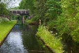 BCN Marathon Challenge 2014: Dudley No 2 Canal on the western side of Gosty Hill Tunnel. On the right are the remains of a tug house, from 1913 to the 1930 a tug was used to pull boats through the tunnel. Birmingham Canal Navigation,   United Kingdom, on 25 May 2014 at 05:56, image #194