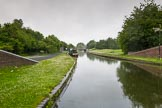 BCN Marathon Challenge 2014: On the Dudley No 1 Canal at Windmill End Junction.. Birmingham Canal Navigation,   United Kingdom, on 25 May 2014 at 06:36, image #200