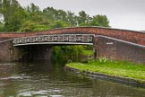 BCN Marathon Challenge 2014: Windmill End Bridge at Windmill End Junction, where the Dudley No 2 Canal meets the Dudley No 1 Canal. Birmingham Canal Navigation,   United Kingdom, on 25 May 2014 at 06:37, image #203
