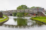 BCN Marathon Challenge 2014: Toll End Works bridge on the Dudley No 1 Canal.Just behind the bridge on the right is the Bumblehole Arm, part of the former Bumblehole Loop. Birmingham Canal Navigation,   United Kingdom, on 25 May 2014 at 06:40, image #205