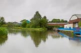 BCN Marathon Challenge 2014: Primrose Hill Basin on the Dudley No 1 Canal. The basin is part of an uncompleted attempt improvement to cut off the loop round the hill.. Birmingham Canal Navigation,   United Kingdom, on 25 May 2014 at 06:54, image #210