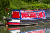 "BCN Marathon Challenge 2014: GUCC narrowboat ""Themis"" on the Dudley No 2 Canal. Birmingham Canal Navigation,   United Kingdom, on 25 May 2014 at 10:30, image #228"