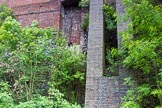 BCN Marathon Challenge 2014: The site of former British Steel Corporation Tubes Division Cooms Wood Works at the Dudley No 2 Canal between Gosty Hill Tunnel and Hawne Basin. Birmingham Canal Navigation,   United Kingdom, on 25 May 2014 at 11:38, image #236
