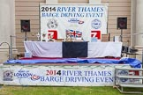 TOW River Thames Barge Driving Race 2014. River Thames between Greenwich and Westminster, London,  United Kingdom, on 28 June 2014 at 16:30, image #459