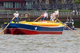 TOW River Thames Barge Driving Race 2014. River Thames between Greenwich and Westminster, London,  United Kingdom, on 28 June 2014 at 12:42, image #123