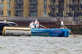 TOW River Thames Barge Driving Race 2014. River Thames between Greenwich and Westminster, London,  United Kingdom, on 28 June 2014 at 12:43, image #126