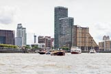 TOW River Thames Barge Driving Race 2014. River Thames between Greenwich and Westminster, London,  United Kingdom, on 28 June 2014 at 12:55, image #163