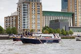 TOW River Thames Barge Driving Race 2014. River Thames between Greenwich and Westminster, London,  United Kingdom, on 28 June 2014 at 12:56, image #168
