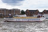 TOW River Thames Barge Driving Race 2014. River Thames between Greenwich and Westminster, London,  United Kingdom, on 28 June 2014 at 13:12, image #205