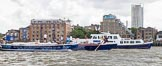 TOW River Thames Barge Driving Race 2014. River Thames between Greenwich and Westminster, London,  United Kingdom, on 28 June 2014 at 13:14, image #210