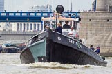 TOW River Thames Barge Driving Race 2014. River Thames between Greenwich and Westminster, London,  United Kingdom, on 28 June 2014 at 13:36, image #260