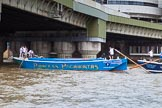 TOW River Thames Barge Driving Race 2014. River Thames between Greenwich and Westminster, London,  United Kingdom, on 28 June 2014 at 13:45, image #291