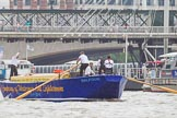 TOW River Thames Barge Driving Race 2014. River Thames between Greenwich and Westminster, London,  United Kingdom, on 28 June 2014 at 14:29, image #413