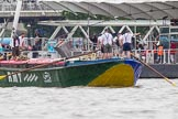 TOW River Thames Barge Driving Race 2014. River Thames between Greenwich and Westminster, London,  United Kingdom, on 28 June 2014 at 14:33, image #420
