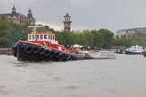 TOW River Thames Barge Driving Race 2014. River Thames between Greenwich and Westminster, London,  United Kingdom, on 28 June 2014 at 14:39, image #433