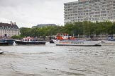TOW River Thames Barge Driving Race 2014. River Thames between Greenwich and Westminster, London,  United Kingdom, on 28 June 2014 at 14:40, image #436