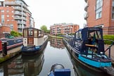 "BCN 24h Marathon Challenge 2015: ""Felonious Mongoose"" leaving Oozells Street Loop at Ladywood Junction to start the event. Birmingham Canal Navigations,    on 23 May 2015 at 08:35, image #6"