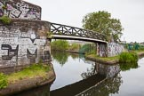 BCN 24h Marathon Challenge 2015: Sandy Turn, the BCN Main Line/Icknield Port Loop junction. Birmingham Canal Navigations,    on 23 May 2015 at 08:43, image #9