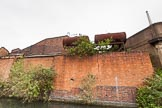 BCN 24h Marathon Challenge 2015: Old industry, with rusty storage tanks and trees growing from the walls, at Icknield Port Loop. Birmingham Canal Navigations,    on 23 May 2015 at 08:48, image #15