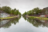 BCN 24h Marathon Challenge 2015: Crossing the BCN New Main Line at Rotton Park Junction, on the way from the Icknield Port Loop to the Soho Loop. Birmingham Canal Navigations,    on 23 May 2015 at 08:57, image #23