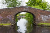BCN 24h Marathon Challenge 2015: Hockley Port Junction Bridge, the entrance to the Birmingham Heath Branch, once serving Matthew Bolton's Soho Works, a group of workshops where craftsmen produced siverware and jewellery. The branch is now much shorter.. Birmingham Canal Navigations,    on 23 May 2015 at 09:13, image #34