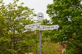 BCN 24h Marathon Challenge 2015: BCNS signpost at Hockley Port Junction. Birmingham Canal Navigations,    on 23 May 2015 at 09:13, image #35