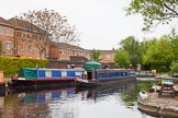 "BCN 24h Marathon Challenge 2015: ""Felonious Mongoose"" turning at the terminus of the Soho Branch. The branch continued towards Vesta Glass Works and Soho Works.. Birmingham Canal Navigations,    on 23 May 2015 at 09:29, image #37"