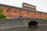BCN 24h Marathon Challenge 2015: Winson Green Prison Bridge, with Winson Green Prison behind. Birmingham Canal Navigations,    on 23 May 2015 at 09:44, image #39