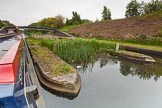 "BCN 24h Marathon Challenge 2015: ""Felonious Mongoose"" passing Winson Green toll island on the BCN Main Line, behind is Winson Green Roving Bridge. Birmingham Canal Navigations,    on 23 May 2015 at 09:50, image #44"