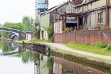 BCN 24h Marathon Challenge 2015: The eastern end of a small loop that ran parallel to the canal.From here, a longer canal arm served Cornwall Engineering Works. Birmingham Canal Navigations,    on 23 May 2015 at 10:05, image #54