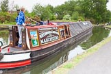 "BCN 24h Marathon Challenge 2015: Narrow boat ""Swallow"" at the Smethwick Locks. For a virtual tour of Swallow see j.mp/bclm-swallow. Birmingham Canal Navigations,    on 23 May 2015 at 10:31, image #61"