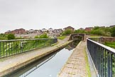 BCN 24h Marathon Challenge 2015: On the Telford Aqueduct, looking towards Engine Arm Junction Bridge. Birmingham Canal Navigations,    on 23 May 2015 at 10:36, image #66