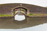 BCN 24h Marathon Challenge 2015: Engine Arm Junction Bridge, with the Telford Aqueduct behind, seen from the Old Main Line near Smethwick Top Lock. Birmingham Canal Navigations,    on 23 May 2015 at 10:38, image #68
