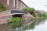 BCN 24h Marathon Challenge 2015: Factory bridge that once served glass works, on the BCN Engine Arm. Birmingham Canal Navigations,    on 23 May 2015 at 10:45, image #73