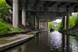 BCN 24h Marathon Challenge 2015: The BCN Old Main Line, mear Smethwick Summit Tunnel, is almosy covered by the M5. Birmingham Canal Navigations,    on 23 May 2015 at 11:35, image #90