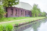 BCN 24h Marathon Challenge 2015: Old factory walls at a new facility on the Wednesbury Old Canal between Pudding Green Junction and Ryders Green Junction. Birmingham Canal Navigations,    on 23 May 2015 at 12:58, image #107