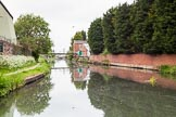 BCN 24h Marathon Challenge 2015: On the Wednesbury Old Canal approaching Ryders Green Junction. Several branches, to the left and two the right, served local industry. Birmingham Canal Navigations,    on 23 May 2015 at 13:05, image #108