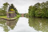 BCN 24h Marathon Challenge 2015: Ryders Green Junction, with the Walsall Canal on th left. The Wendesbury Old Canal (no longer navigable) continues ahead, and turns into the Ridgeacre Branch.. Birmingham Canal Navigations,    on 23 May 2015 at 13:07, image #110